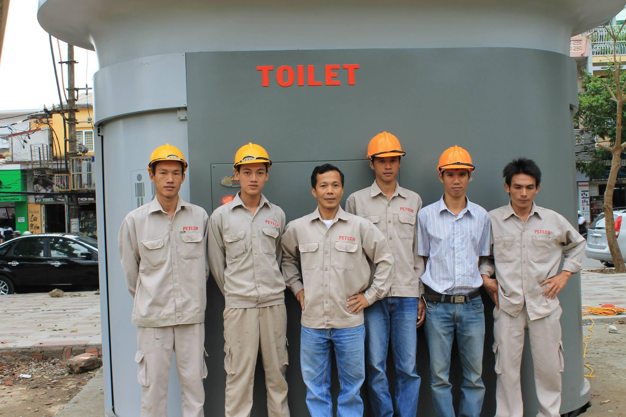 nhà vệ sinh công cộng Hải Phòng