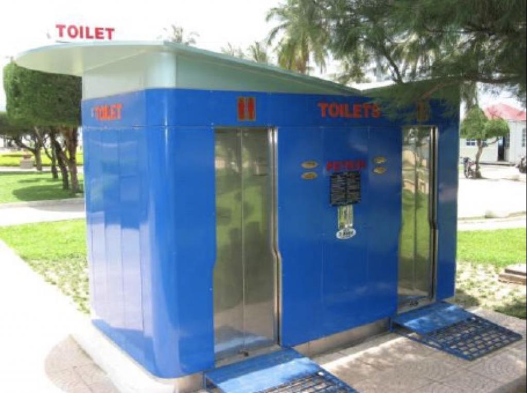 Nhà vệ sinh công cộng Nha Trang 2007