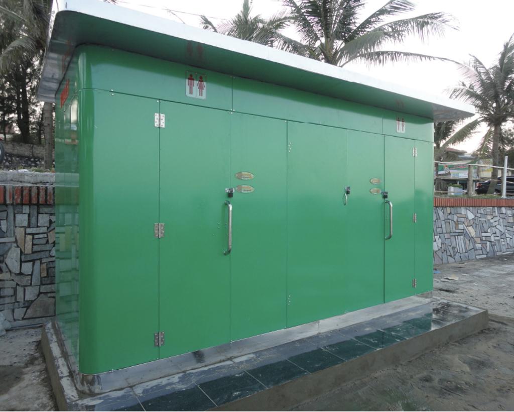 Nhà vệ sinh công cộng tự động Hà Nội
