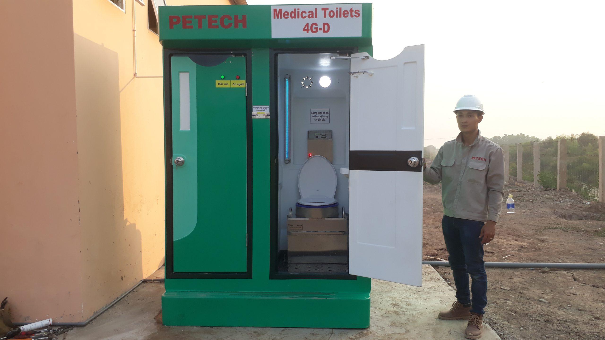 nhà vệ sinh y tế Giang Thành